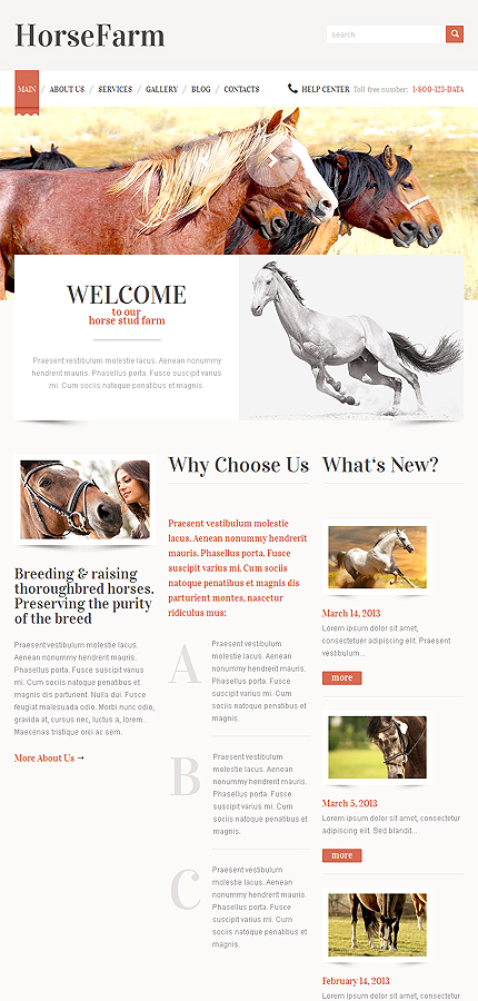 Animals & Pets Most Popular website inspirations at your coffee break? Browse for more WordPress #templates! // Regular price: $75 // Sources available: .PSD, .PHP, This theme is widgetized #Animals & Pets #Most Popular #WordPress