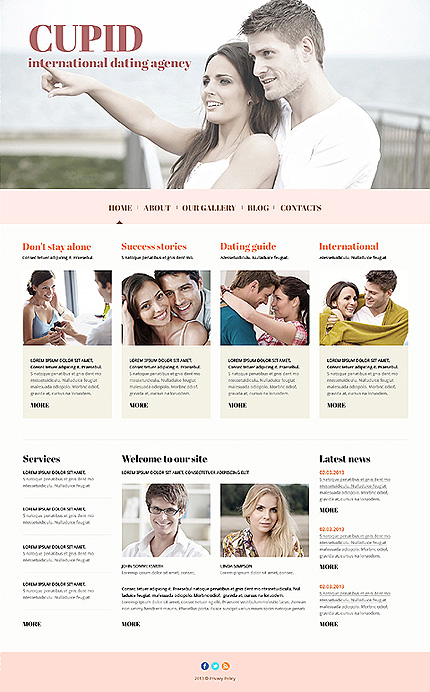 Dating website inspirations at your coffee break? Browse for more Joomla #templates! // Regular price: $75 // Sources available: .PSD, .PHP #Dating #Joomla