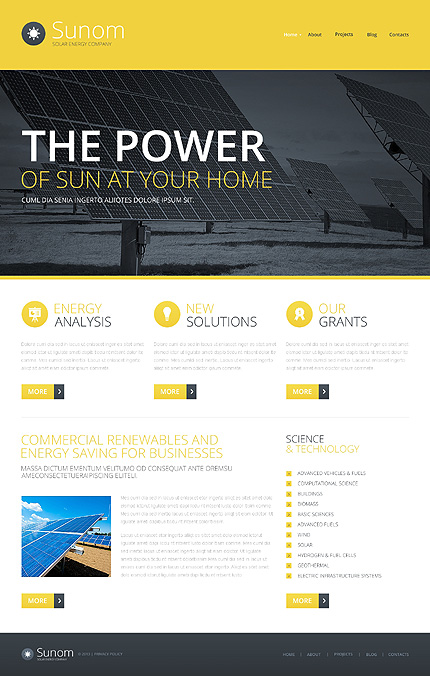 Most Popular Alternative Power website inspirations at your coffee break? Browse for more Bootstrap #templates! // Regular price: $75 // Sources available: .HTML,  .PSD #Most Popular #Alternative Power #Bootstrap