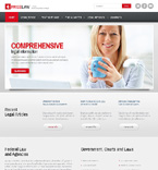 Responsive JavaScript Animated Template #47671
