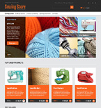 Sewing Store PrestaShop Template