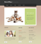 Responsive JavaScript Animated Template #47790