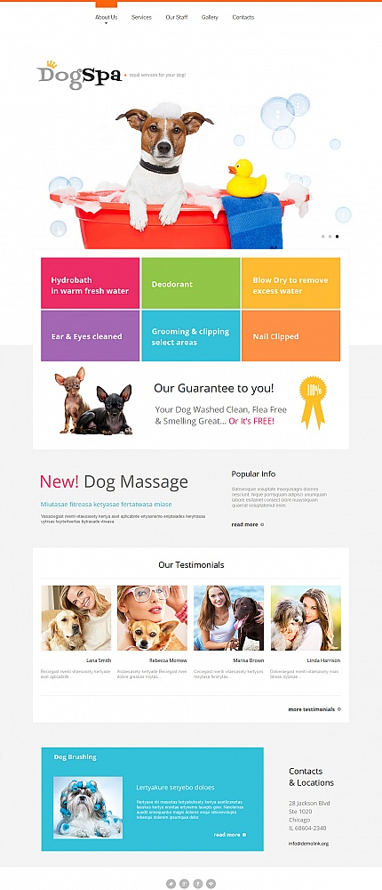 Animals &amp; Pets Most Popular website inspirations at your coffee break? Browse for more Moto CMS HTML #templates! // Regular price: $139 // Sources available:<b>Sources Not Included</b> #Animals &amp; Pets #Most Popular #Moto CMS HTML