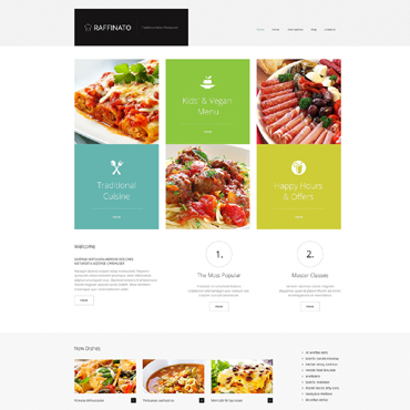 WordPress Theme # 47831