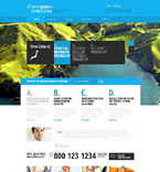 Responsive JavaScript Animated Template #47841