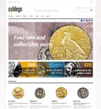 Collectible Coins Magento Template
