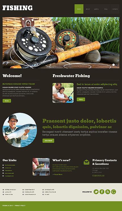 все для рыбалки wordpress