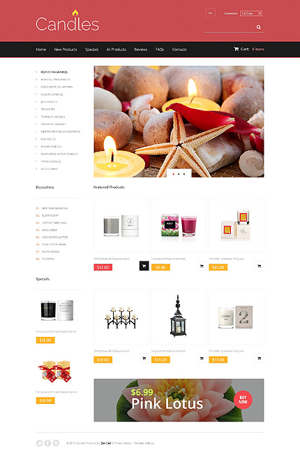 Gifts website inspirations at your coffee break? Browse for more Zen Cart #templates! // Regular price: $139 // Sources available: .PSD, .PHP #Gifts #Zen Cart