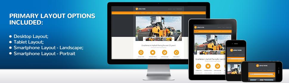 Industrial - Type website-templates - Template # 48140
