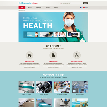 Website Template # 48146