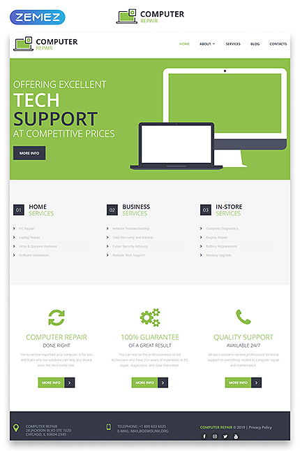 Computers Most Popular website inspirations at your coffee break? Browse for more Responsive JavaScript Animated #templates! // Regular price: $115 // Sources available: .HTML,  .PSD #Computers #Most Popular #Responsive JavaScript Animated