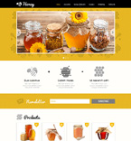 Responsive JavaScript Animated Template #48175