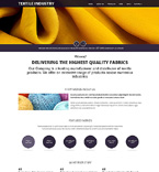 Textile Industry Drupal Template