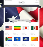 Flags Magento Template