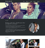 Responsive JavaScript Animated Template #48288