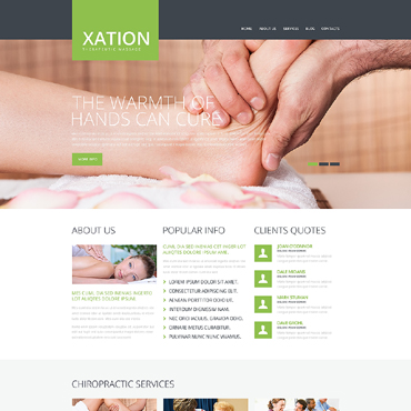 Website Template # 48351