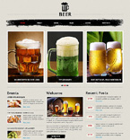 Beer Pub Joomla Template