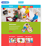Download Template Monster Website Template 48443