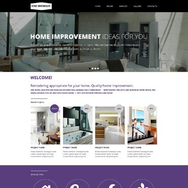 Website Template # 48482