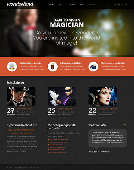 Personal Pages website inspirations at your coffee break? Browse for more Drupal #templates! // Regular price: $75 // Sources available: .PSD, .PHP #Personal Pages #Drupal