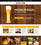 Beer Joomla Template