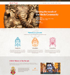 Hindu Temple WordPress Template