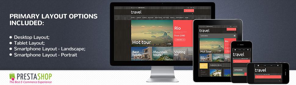 Travel - Template PrestaShop