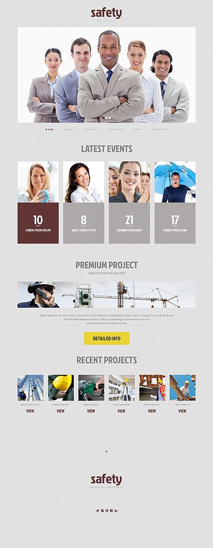 Security Most Popular website inspirations at your coffee break? Browse for more WordPress #templates! // Regular price: $75 // Sources available: .PSD, .PHP, This theme is widgetized #Security #Most Popular #WordPress