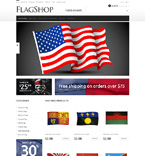 Flag Shop OpenCart Template