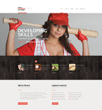 Responsive JavaScript Animated Template #48768