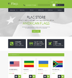 Flags Store PrestaShop Template