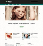 Charity Organization WordPress Template