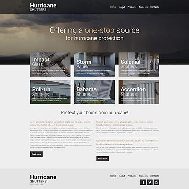 Website Template # 48810