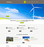 Clean Power WordPress Template
