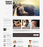 Modern Church WordPress Template