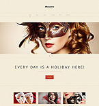 Wordpress template 48981 - Buy this design now for only $75