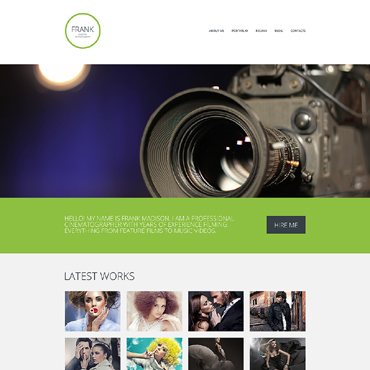 Website Template # 49052