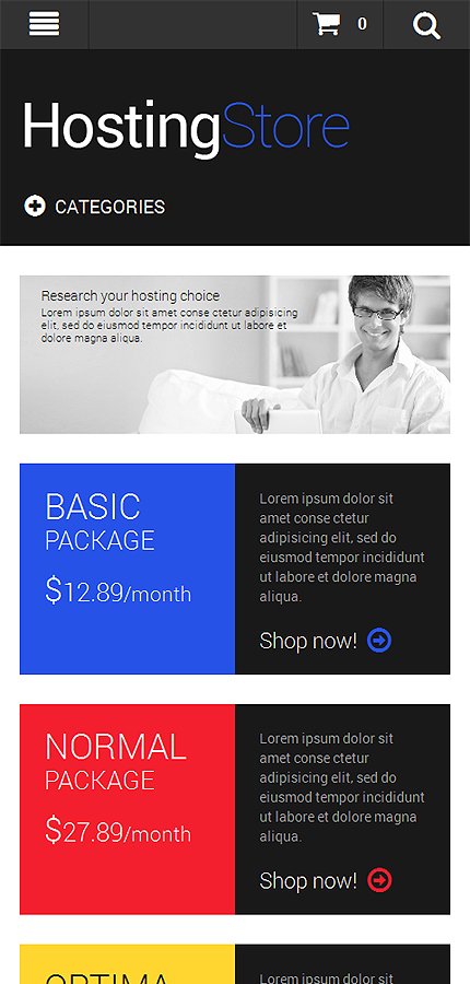 Hosting Most Popular website inspirations at your coffee break? Browse for more Magento #templates! // Regular price: $179 // Sources available: .PSD, .XML, .PHTML, .CSS #Hosting #Most Popular #Magento