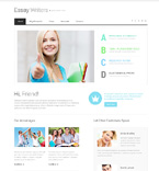 Responsive JavaScript Animated Template #49073