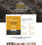 Charity Organization Joomla Template