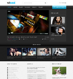 Responsive JavaScript Animated Template #49105