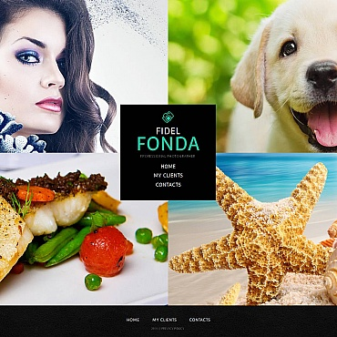 Photo Gallery Template # 49121