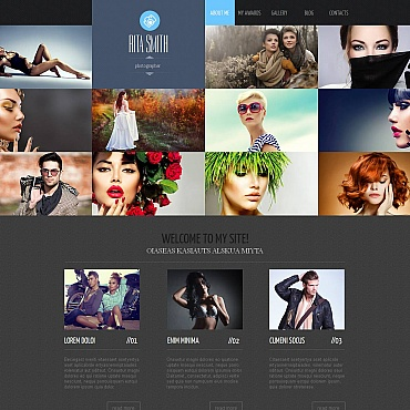 Photo Gallery Template # 49129