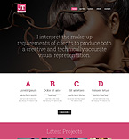 Responsive JavaScript Animated Template #49135
