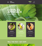 Responsive JavaScript Animated Template #49152