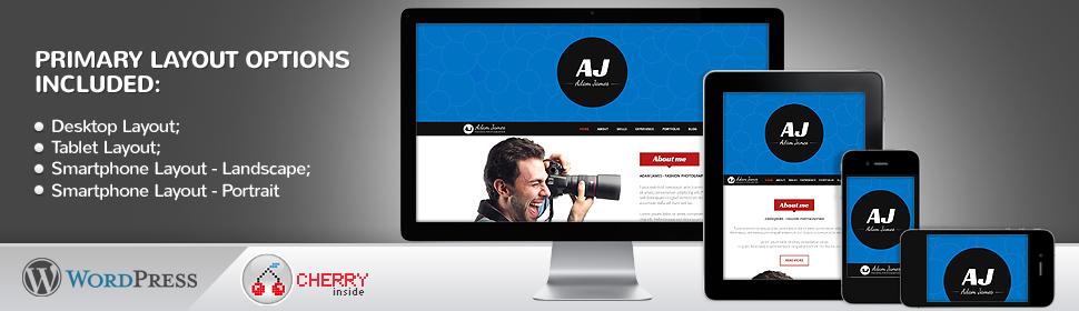 Art and Photography - Template WordPress