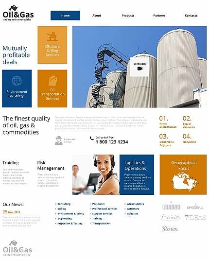 Industrial Most Popular website inspirations at your coffee break? Browse for more Moto CMS HTML #templates! // Regular price: $139 // Sources available:<b>Sources Not Included</b> #Industrial #Most Popular #Moto CMS HTML