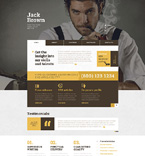 Responsive JavaScript Animated Template #49206
