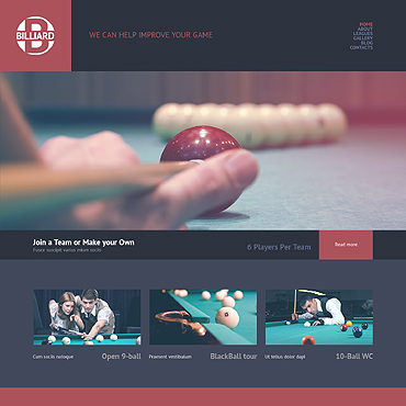 WordPress Theme # 49220