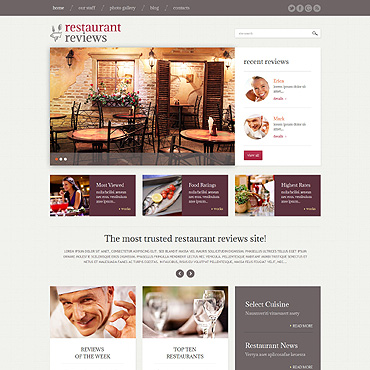 WordPress Theme # 49230